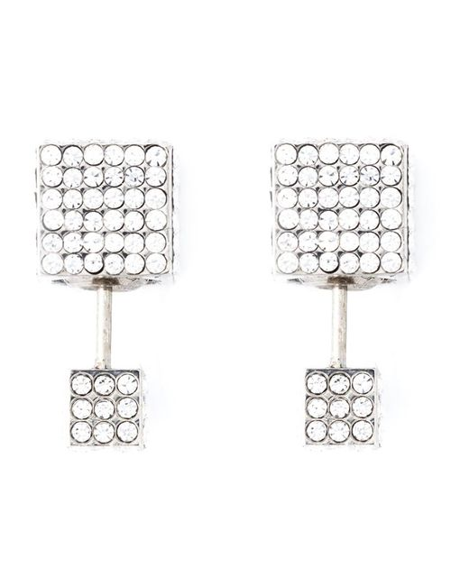 Vita Fede | Metallic 'double Cubo' Earrings | Lyst