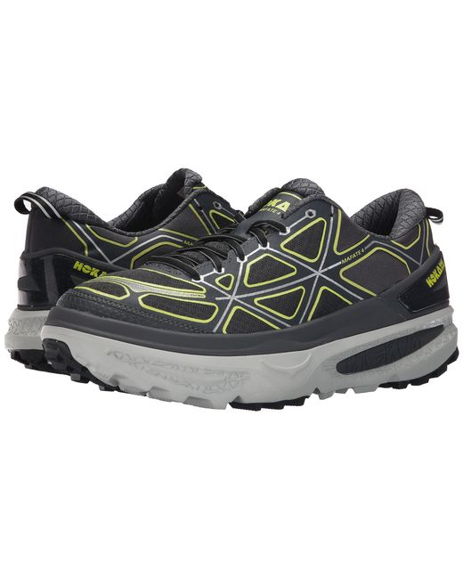 Hoka One One Tor Ultra Low Wp In Gray For Men Grey Cyan