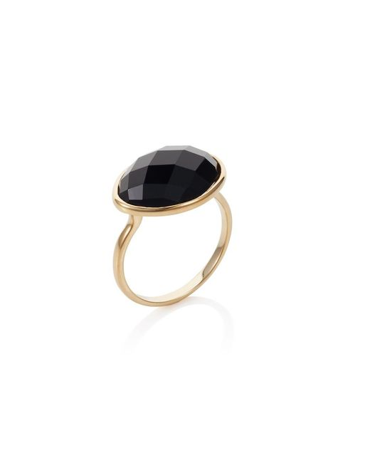 Caroline Creba | Metallic 18ct Gold Plated Sterling Silver 5.30ct Black Aga | Lyst