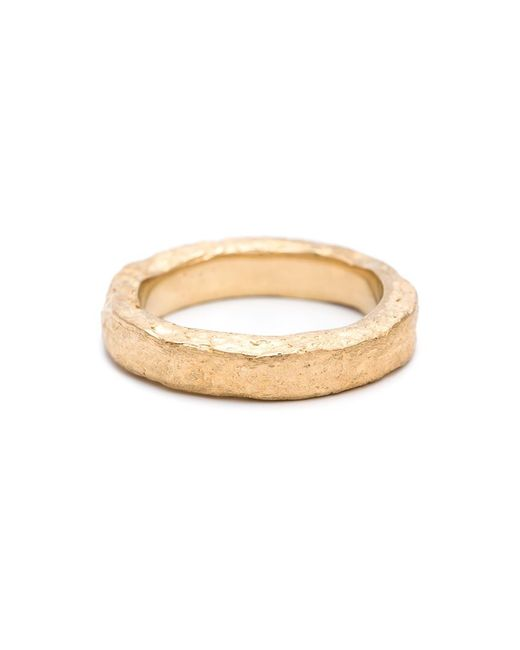 Pearls Before Swine   Metallic Forged Band Ring   Lyst
