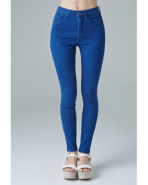 Forever 21 | Blue The Fairfax High Rise Jean | Lyst