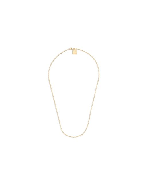 "J.Crew | Metallic Jennifer Fisher 18"" 10k Gold Small Oval-link Chain 