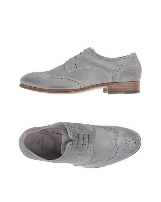 NDC   Gray Lace-up Shoes for Men   Lyst