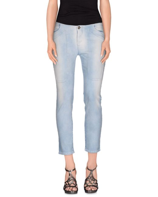Jeckerson | Blue Denim Pants | Lyst