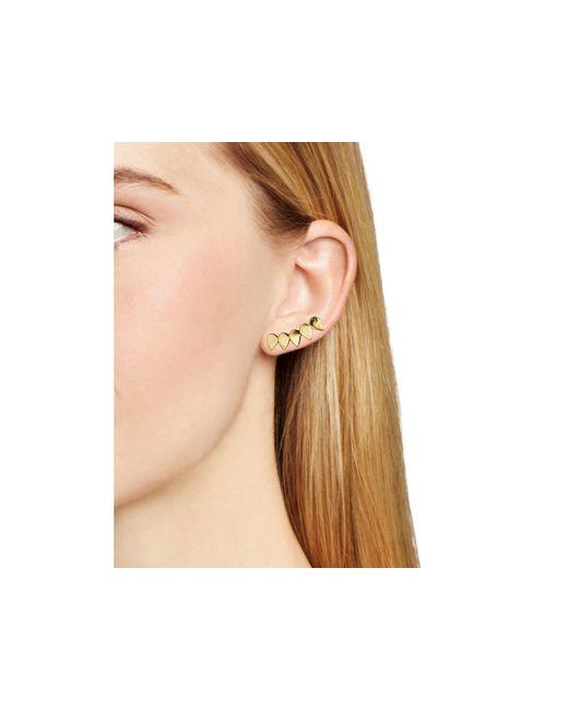BaubleBar | Metallic Celine Ear Climbers | Lyst