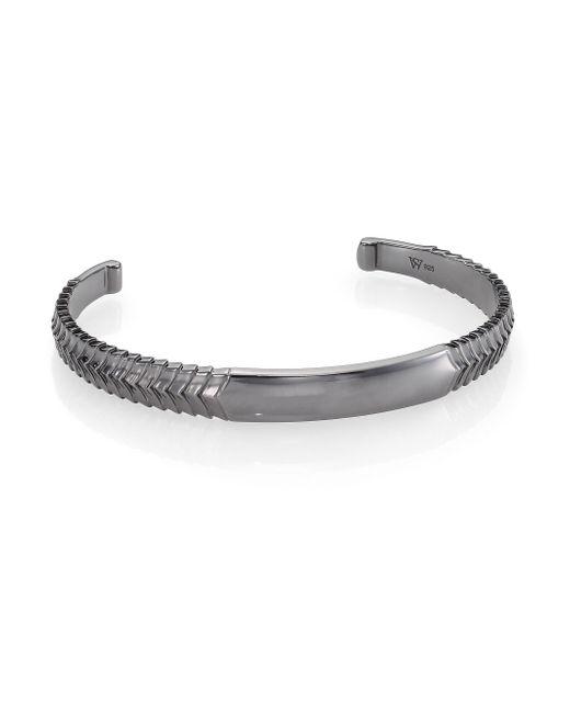 Stephen Webster | Metallic Torque Bangle Bracelet | Lyst
