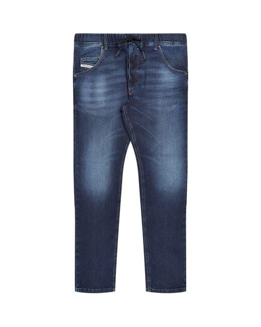 diesel krooley jogg jeans in blue for men lyst. Black Bedroom Furniture Sets. Home Design Ideas