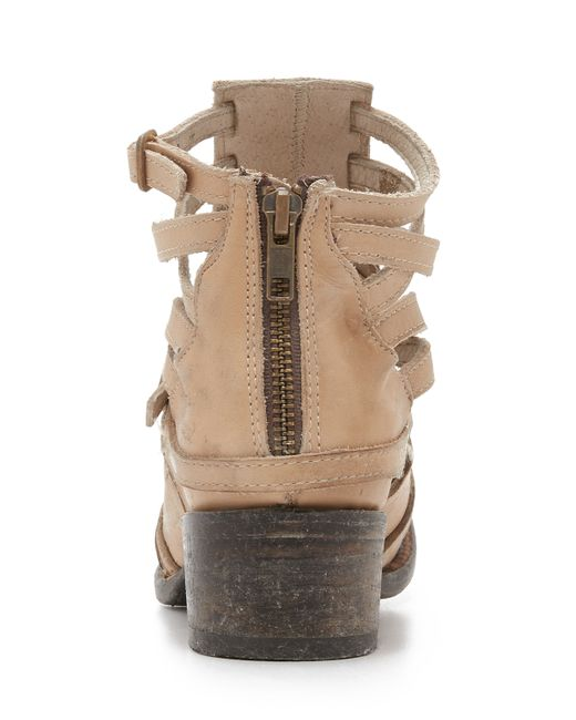 Freebird By Steven Stair Booties In Brown Taupe Lyst