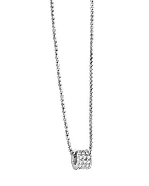 Guess | Metallic G Rounds Necklace | Lyst