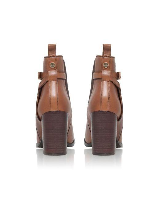 Carvela Kurt Geiger | Brown Stacey High Heel Ankle Boots | Lyst