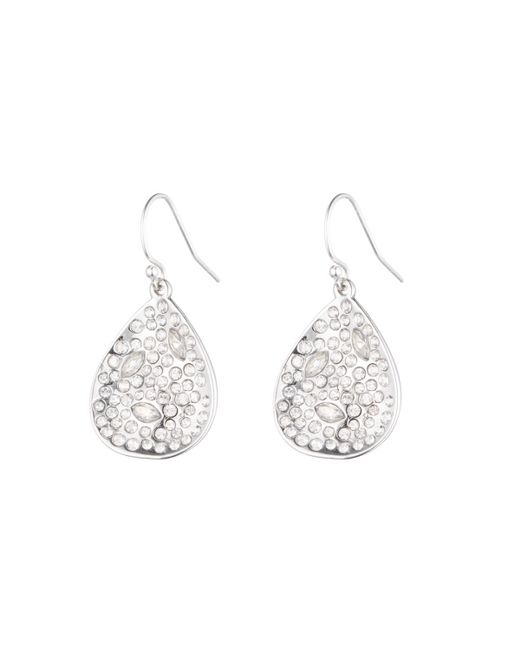 Alexis Bittar | White Crystal Encrusted Extra Small Drop Earring You Might Also Like | Lyst