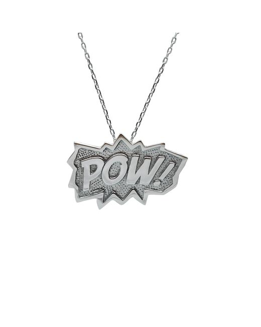 Edge Only | Metallic Pow Pendant Extra Large In Silver | Lyst
