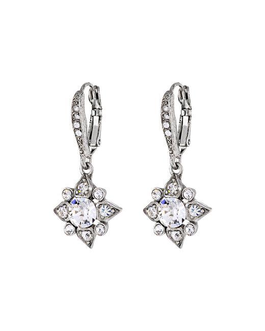 Oscar de la Renta | Metallic Delicate Star Earring | Lyst