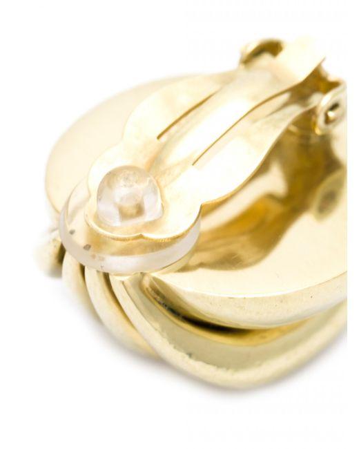 Vaubel | Metallic Chunky Wire Button Clip Earrings | Lyst