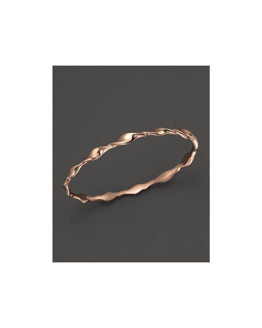 Ippolita | Pink Glamazon® Rosé Twisted Oval Bangle | Lyst