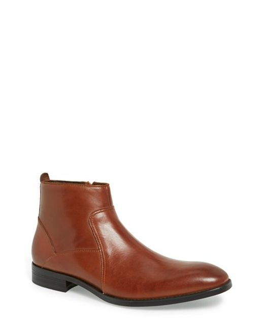 Kenneth Cole Reaction | Brown 'crisis Ave-rted' Boot for Men | Lyst