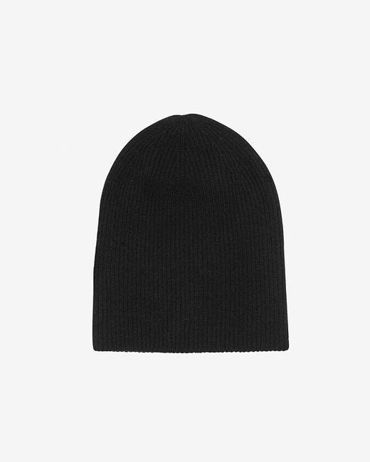 Exclusive For Intermix | Black Double Knit Cashmere Beanie | Lyst