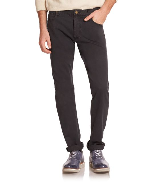 Billy Reid | Black Ashland Cotton Jeans for Men | Lyst