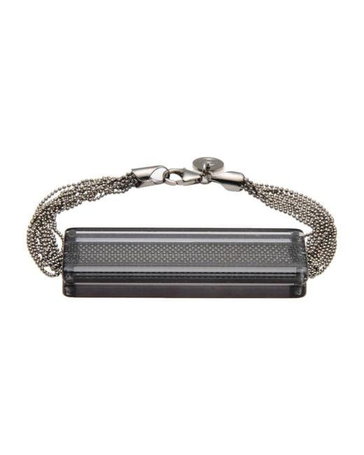 MM6 by Maison Martin Margiela | Gray Bracelet | Lyst