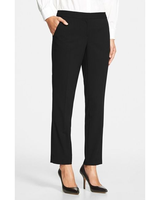 Vince Camuto | Black Skinny Ankle Pants | Lyst
