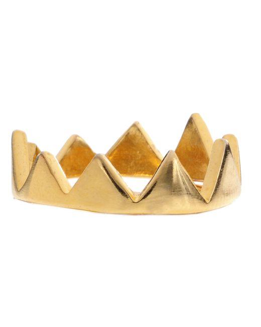 Jill Golden | Metallic Crown Ring | Lyst