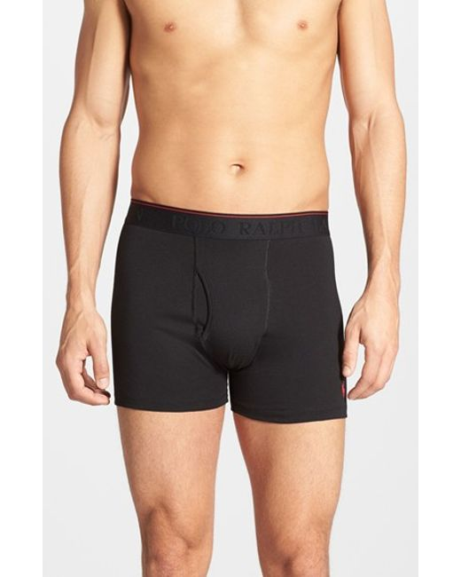 Polo Ralph Lauren | Supreme Comfort 2-pack Boxer Briefs, Black for Men | Lyst