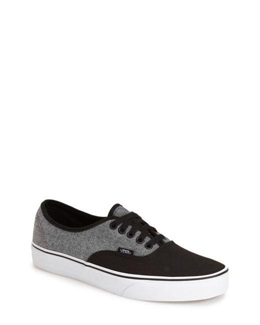 Vans | Black 'authentic' Sneaker for Men | Lyst