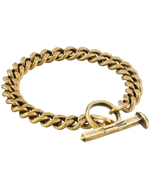 Giles & Brother | Yellow Spike Toggle Chain Bracelet | Lyst