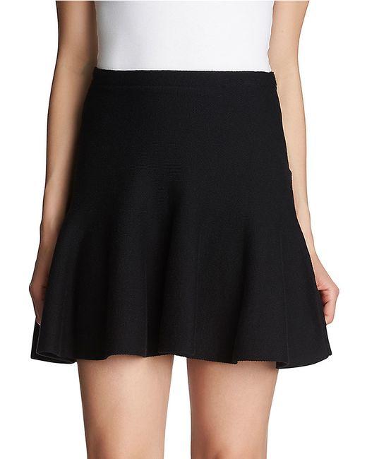 1.STATE | Black Flounce Mini Skirt | Lyst