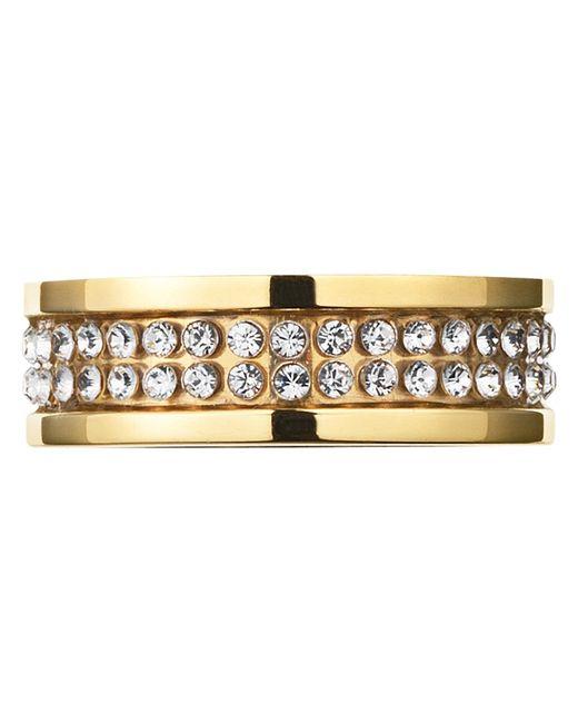 Dyrberg/Kern | Metallic Dyrberg/kern Fratianne Crystal Band Ring | Lyst