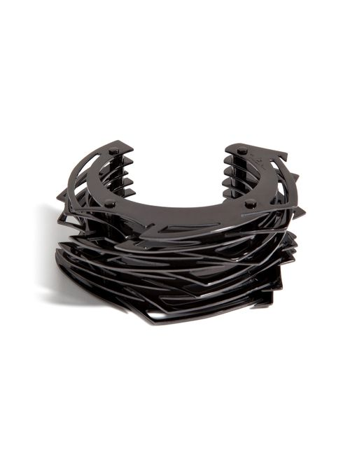 Lynn Ban | Black Large Throwing Star Cuff | Lyst