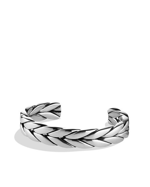 David Yurman | Metallic Chevron Cuff Bracelet for Men | Lyst