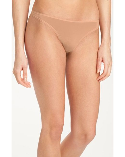 Felina | Brown 'sublime' Thong | Lyst