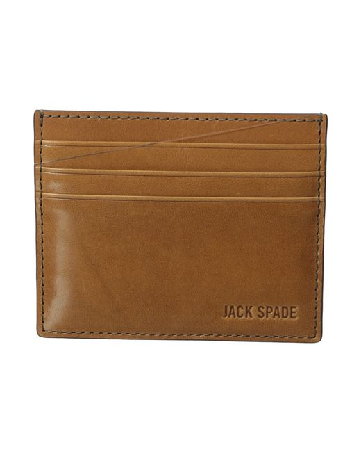 Jack Spade | Blue Mitchell Leather Six Card Holder for Men | Lyst