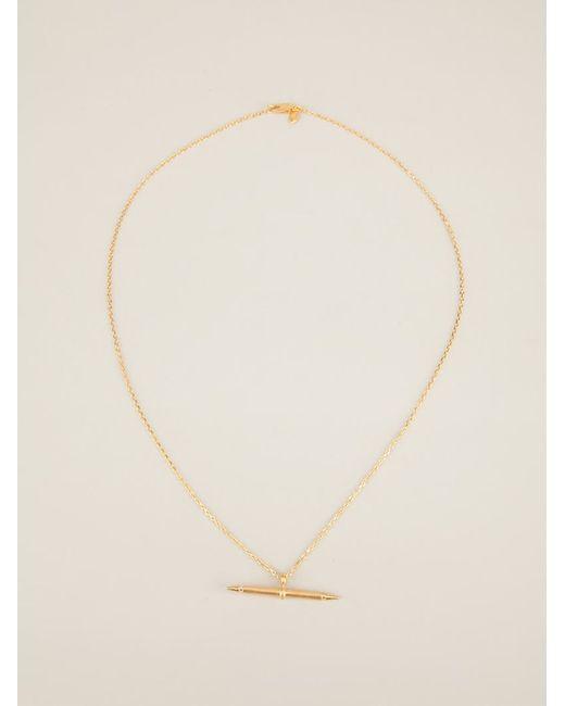 Maria Black | Metallic 'spear' Necklace | Lyst