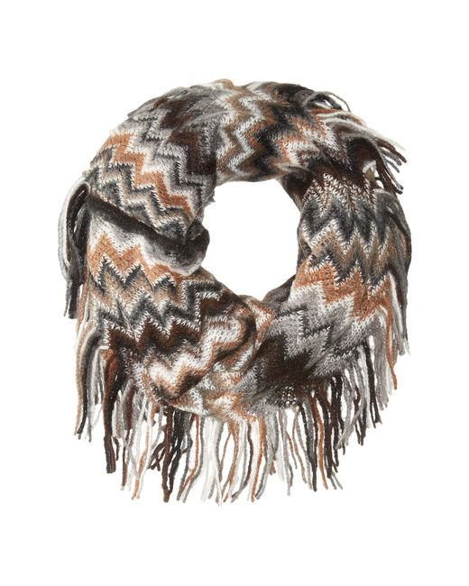 Steve Madden - Multicolor All Over Zigzag Snood - Lyst