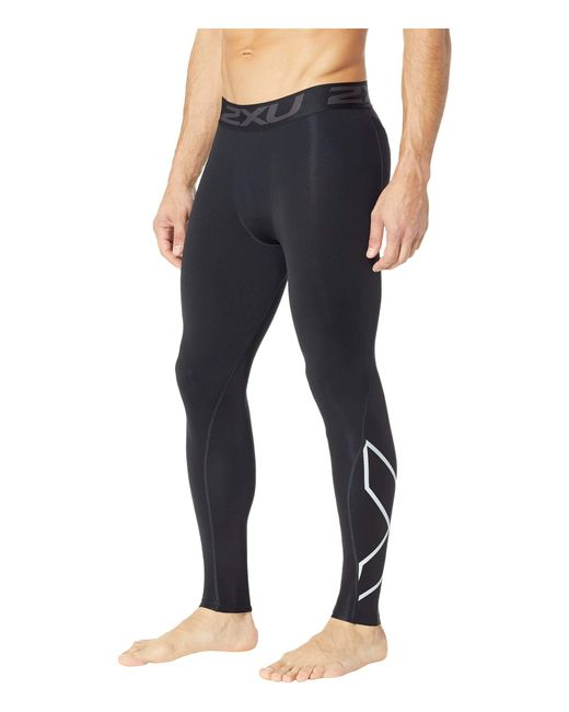 83c0a68153 ... 2xu - Black Thermal Accelerate Compression Tights for Men - Lyst ...