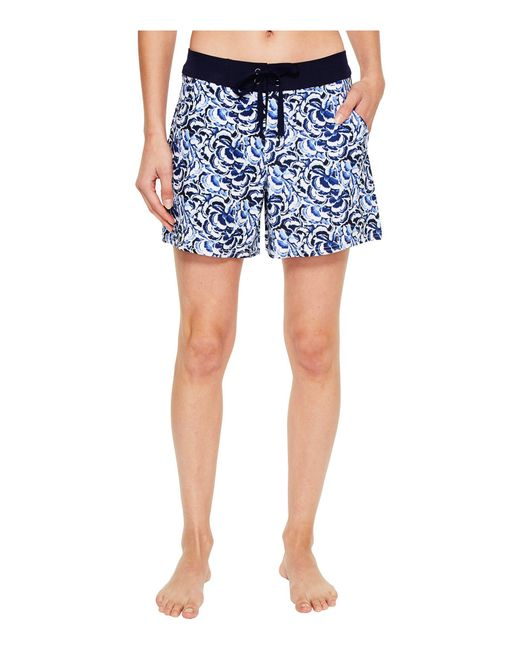 Tommy Bahama - White Pansy Petals 5-inch Board Shorts - Lyst