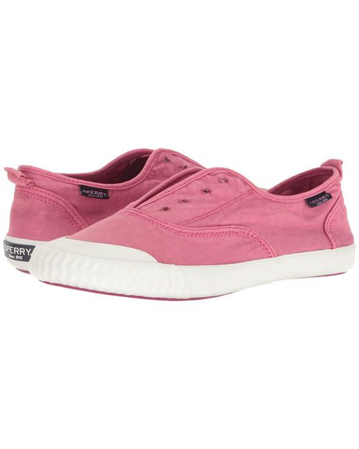 Sperry Top-Sider - Pink Paul Sayel Canvas Clew Slip-on Sneakers - Lyst