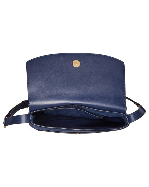 8ae5b94e8470 Lyst - Tory Burch Farrah Shoulder Bag in Blue - Save 16%