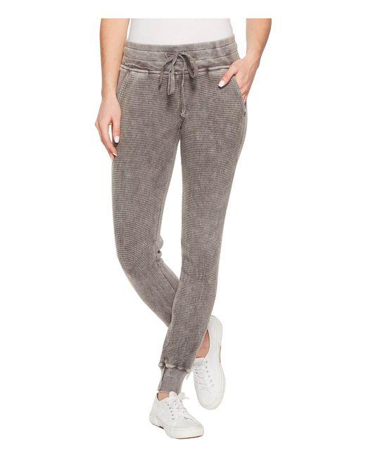 Allen Allen - Gray Box Thermal Cuff Bottom Skinny Pants - Lyst