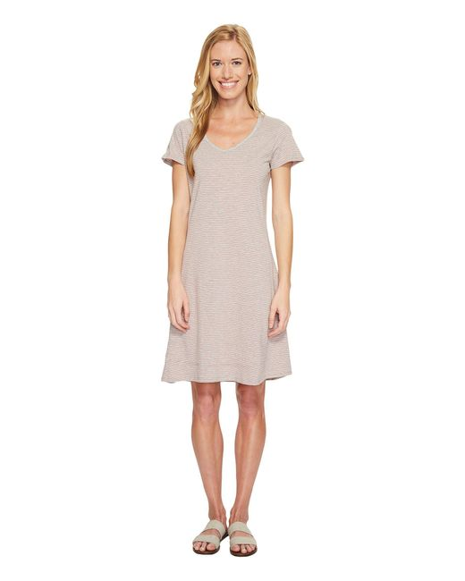 Toad&Co - Gray Marley S/s Dress - Lyst