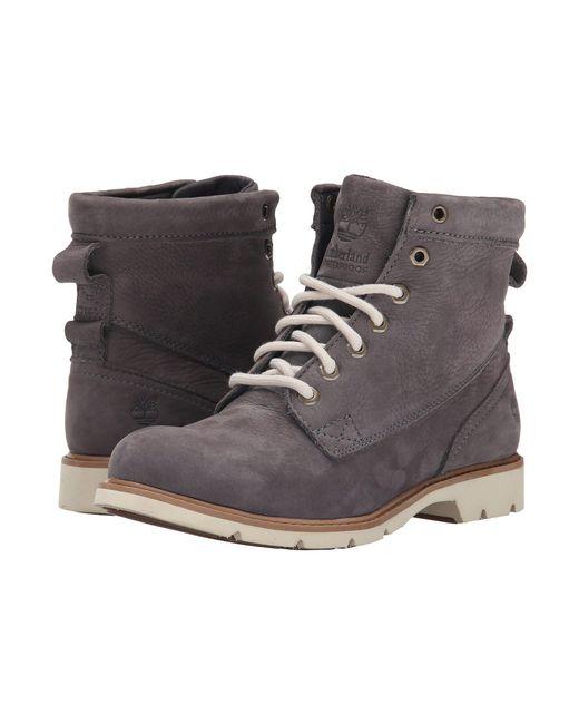 "Timberland - Gray Bramhall 6"" Lace-up Waterproof Boot - Lyst"