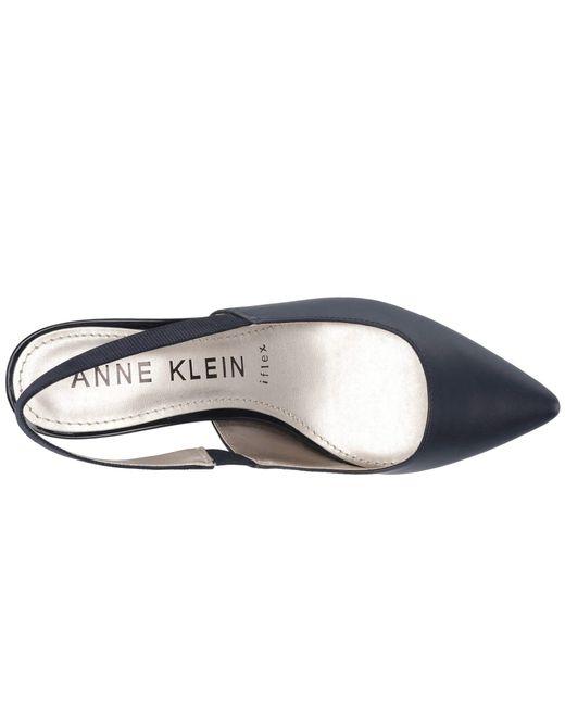 41e2896f014 Lyst - Anne Klein Aileen Slingback Heel in Blue - Save 44%
