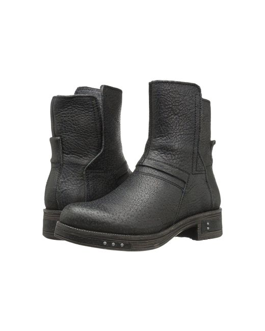 Caterpillar - Black Pixley Round Toe Leather Boot - Lyst