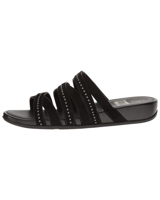 FitFlop Lumy Leather Slide w/ Studs