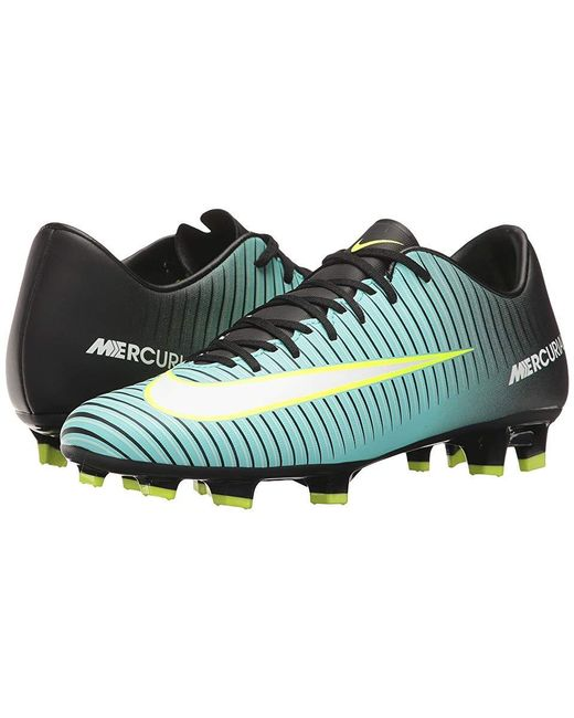 the best attitude 55b60 a346c Women's Mercurial Victory Vi Fg (light Aqua/white/black) Soccer Shoes