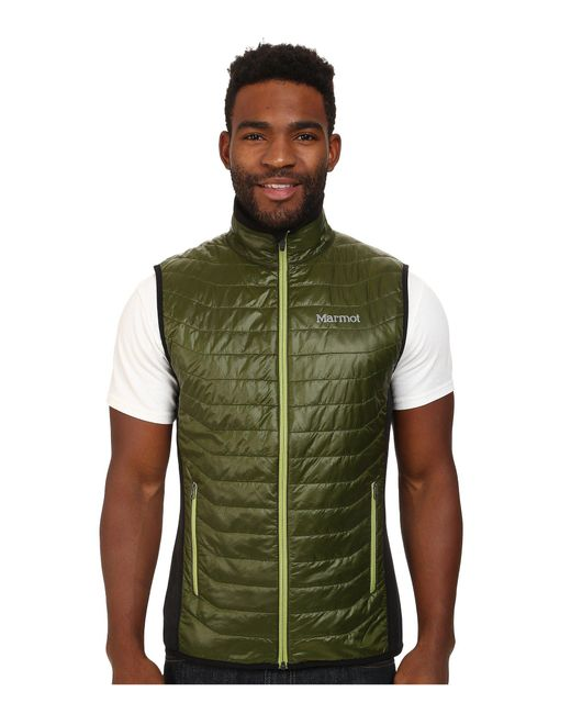 Marmot - Green Variant Vest for Men - Lyst