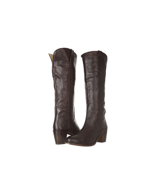 Frye - Brown Jackie Tall Riding - Lyst