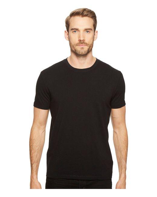 Lucky Brand - Black Short Sleeve Crew for Men - Lyst